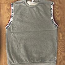 Moschino Logo Sleeveless Sweatshirt - Large Photo