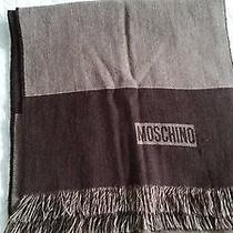 Moschino Merino Neck Scarf  Made in Italy Photo