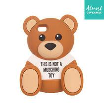 Moschino Mobile Phone Case Soft Back Large Bear Shape Photo