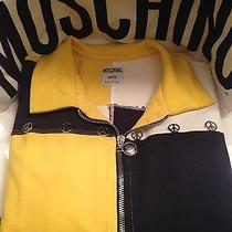 Moschino Peace Sign Sporty Jacket  40/ Us 6 Photo