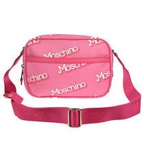 Moschino Pink Barbie Camera Cross Body Messenger Bag Authentic Photo