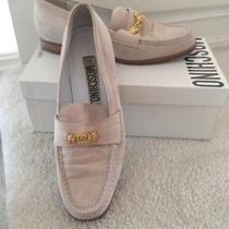 Moschino Pink Suede Loafers Photo