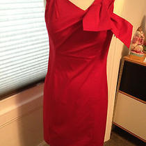 Moschino Red Dress  Us Sz 8 Photo