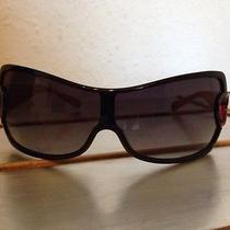 Moschino Red Sunglasses Photo