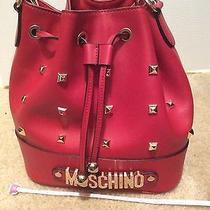 Moschino Red Tote Handbag Photo