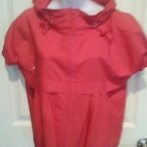 Moschino Salmon Short Sleeve Jacket Size M Photo