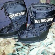 Moschino Snow Boots Size  10 Photo