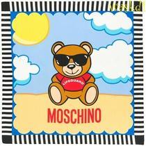 Moschino Stripe Border Lifeguard Teddy Bear Logo 34