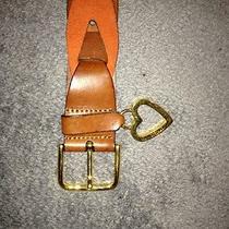Moschino Suede Belt  Photo