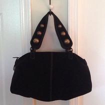 Moschino Suede Black Bag Photo