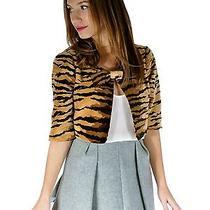 Moschino Tiger Print Bolero  Photo