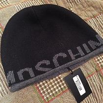 Moschino Unisex Beanie Winter Hat Photo
