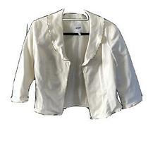 Moschino Womens White Blazer Sz. Small Photo