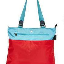 Mosey Life Carribean Blue 2 Tone Tote All Shoulder Bag Nwt  Authentic Photo
