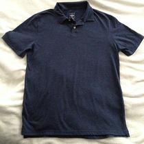 Mossimo Athletic Fit Heather Blue Polo Mens Medium Free Shipping Photo