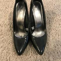 Mossimo Black Heels Size 6. Preowned Photo