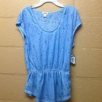Mossimo Blouse Blue Photo