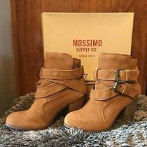 Mossimo Boots Cognac Suede Size 7 1/2 New in Box Photo