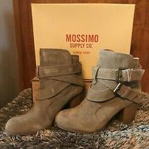 Mossimo Boots Taupe Suede Size 8 New in Box Photo