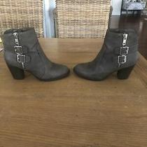 Mossimo Brown Ankle Booties Size 8 Photo