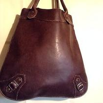 Mossimo Brown  Polyvinyl Handbag Photo