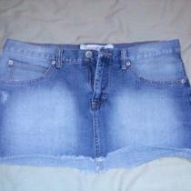Mossimo Denim Jean Skirt Very Gently Worn Size 15 Photo