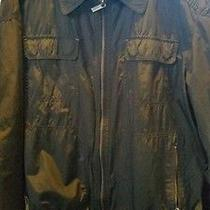 Mossimo Dutti Mens Polyester Windbreaker Bomber Jacket (Xl 42 Brown) Photo