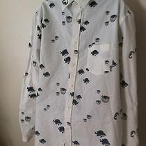 Mossimo Fish and Sea Life Shirt Size Large Photo