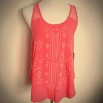 Mossimo for Target Coral Pink Tribal Tank Photo