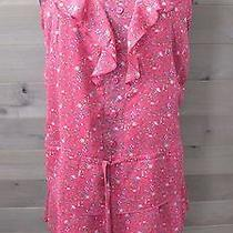 Mossimo Fuchsia Sleeveless Above the Knee Summer Dress Size S Nwot Photo
