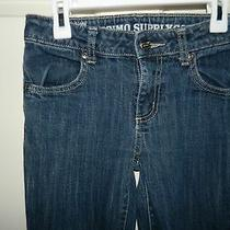 Mossimo Girls Blue Stretch Denim Straight Leg Jeans Pants 10 Photo