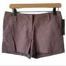 Mossimo Gray Textured Chino Shorts Womens Size 2 Photo