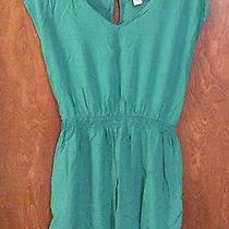 Mossimo Green Summer Dress Photo
