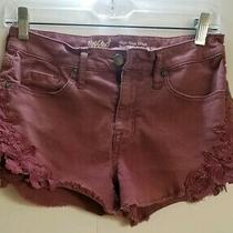 Mossimo High Rise Shorts - Super Stretch - Size 2/26. Pre-Owned. Photo
