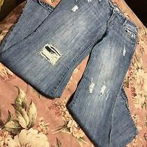 Mossimo Jeans Size 13 Flare Bell Bottoms Front Pockets Groovy Photo