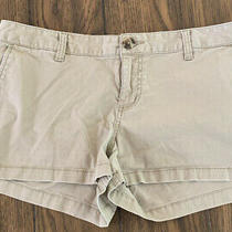 Mossimo Khaki Stretch Shorts- Size 13 Photo