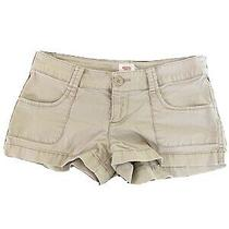 Mossimo Khaki Stretch Shorts- Size 5 Photo