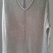 Mossimo Knit See Through Sweater  Photo