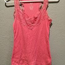 Mossimo Lace Racerback Tank Photo