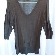 Mossimo Ladies Sweater v Neck  Size Xxl   Photo