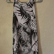 Mossimo Leaf Print High-Low Top Urban Outfitters Style Photo