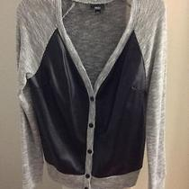 Mossimo Leather & Knit Cardigan Photo