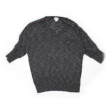 Mossimo Pullover Sweater Sm Grey v Neck Photo