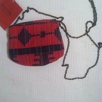 Mossimo Red Crossbody Purse Photo