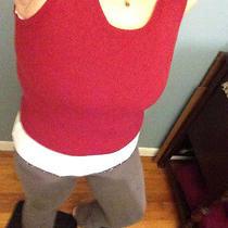 Mossimo Red Wine School Girl Vest Sizem Photo