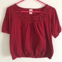 Mossimo's Burgundy Summer Blouse Photo
