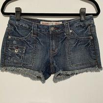 Mossimo Shorts Size 7 Juniors Blue Denim Photo