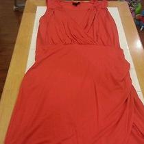 Mossimo Size Small Orange Dress Body Hugging Photo