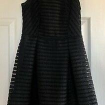 Mossimo Size Small/petite Black Fit & Flare Holiday Party Dress Photo