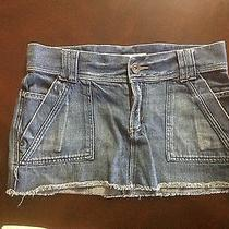 Mossimo Skirt Women Size 9 Jean Skirt Photo